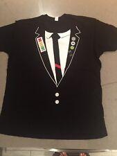 No Doubt! Faux Tux Summer Tour 2009 Blk T-Shirt Xl New