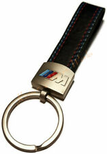 BMW M Keychain M Badge Leather with 3 Color Stitching Keychain M3 M5 M6 E46 E90