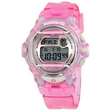 Casio Baby-G BG-169R-4 Transparent Pink Women's and Girls Digital Sports Watch