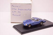 KIT FERRARI 250 EXPERIMENTALE LM 62 RECORD 1/43 NEUF EN BOITE MONTAGE PRO