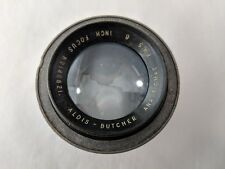 Antique Aldis Butcher Anastigmat 6'' f4.5 Focus Lens - RARE Made in England