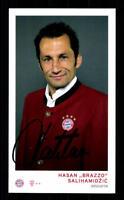 Hasan Salihamidzic Autogrammkarte Bayern München 2016-17 Orig Sig Botschafter AK