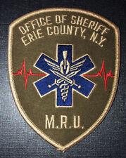 Erie Co. Sheriff MRU patch