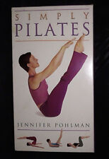 Simply Pilates - Jennifer Pohlman - Video VHS
