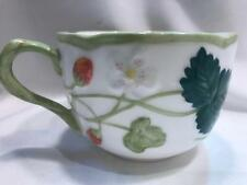 Minton Victoria strawberry Hand Painted Fine Bone China Teacup New