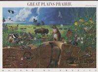 2001 3rd Nature of America 34c Sc 3506 sheet Plains Prairie
