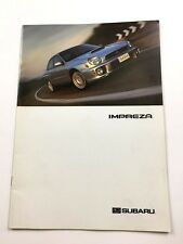 2003 Subaru Impreza and RS WRX Outback 20-page Canada Car Sales Brochure Catalog