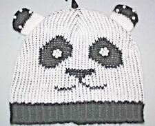 """Torrid"" Beanie~Panda Face~Black/White~One Size~NWT"