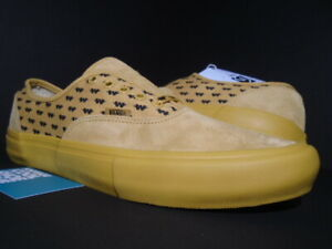 VANS AUTHENTIC S WTAPS WINGS YELLOW BLACK VN000EFPGWE SUPREME NEW 10.5