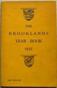 THE BROOKLANDS YEAR BOOK 1935 BARC Motor Sport Racing
