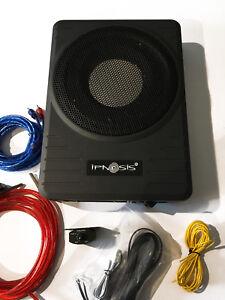 Ipnosis Sub Ipe S250 Subwoofer Amplificado debajo Del Asiento 360W 25cm Cables