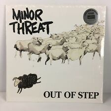 Minor Threat - Out of Step [EP] (Vinyl, Dischord Records) Remastered NEW