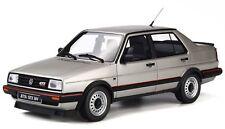 1 18 OTTO Model VW Volkswagen Jetta GTX 16V MKII Silver 1987 OT742