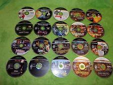 Lot of 30 Loose Original XBOX Discs Games