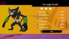 NEW DLC LEGEND SHINY ZARUDE RAID WITH 999 ITEMS POKEMON SWORD & SHIELD