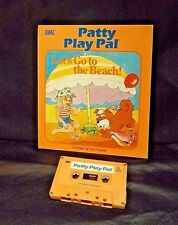 PATTY PLAY PAL DOLL BOOK/TAPE LET'S GO TO THE BEACH! 1987 WORKS
