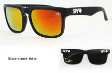 KEN BLOCK SUNGLASSES  MEN CYCLING SPY SUNGLASS BLACK -WHITE LOGO FULL KIT