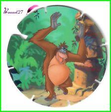 """Jeton SUPER FLIZZ SERIE 2 """" ROI LOUIE """"   Le Livre de la Jungle numéro NR 72"""