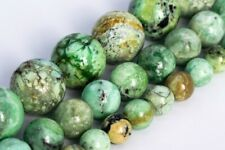 Genuine Natural Green Variscite Beads Grade AAA Round Loose Beads 6/8/12MM