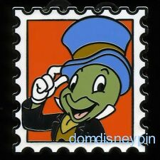 Disney Pin Magical Mystery Pins (Series 10) *Character Stamps* - Jiminy Cricket!