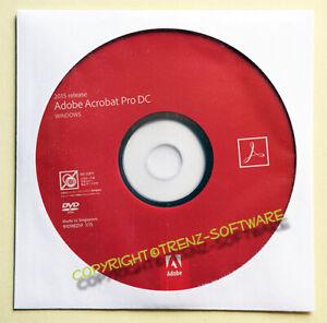 Adobe Acrobat Pro DC 2015 Windows deutsch mit DVD - keine Mietversion - MwSt