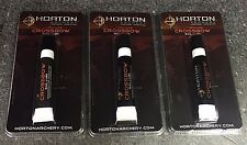 (3) Three Factory Sealed Horton Crossbow Rail Lubricant #St091