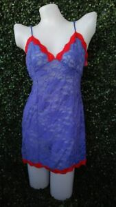 Lingerie Intimates, tag removed blue and red , night gown