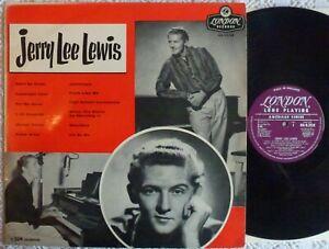 RARE & EXCELLENT~JERRY LEE LEWIS~1959 LONDON UK LP~ROCKABILLY / ROCK N ROLL