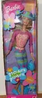 Flower Power Blonde Barbie Doll 2000 Mattel Damaged Box