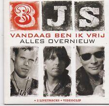 3 JS -Vandaag Ben Ik Vrij cd single