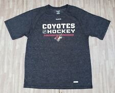 Phoenix Coyotes Hockey Reebok Speedwick Athletic Shirt ~ Men's Large L ~ Arizona
