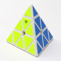 Pyramid Magic Cube Smooth Triangule Educational Kid Toy Twist Puzzle Speed Cubes