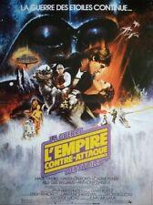 THE EMPIRE STRIKES BACK Affiche Cinéma 53x40 Movie Poster STAR WARS R1990