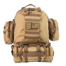 3 V Gear paratus 3 Jour de l'opérateur Pack Sac à dos Bob Bug Out Bag Garantie à vie