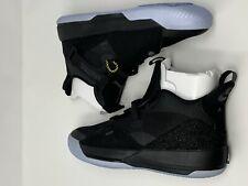 "Nike Air Jordan XXXIII 33 ""Blackout"" AQ8830-002 Size 10 LIMITED 100% Authentic"