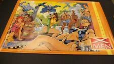 RARE VINTAGE (X-MEN TIME OFF) POSTER 1992 / JIM LEE   PO.156