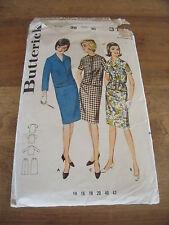 """PATRON VINTAGE """"BUTTERICK """"TAILLEUR JUPE  1950 T 16 ( 44  )N°3152"""
