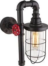 Wandleuchte Globo Bayuda 43000W Steampunk Rohrleitung Retro Industrie Flurlampe
