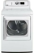 """Ge Ptds850Emww 27"""" White Front-Load Electric Steam Dryer Nib #4061"""