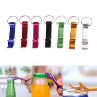 3 Pcs/Set Bottle Opener Key Ring Chain Keyring Keychain Metal Beer Bar Tool ClTE