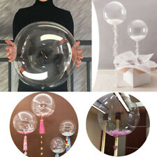 10 PCS PVC Bobo Transparent Balloons Baby Shower Wedding Birthday Party Decor