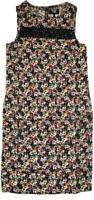 BN NEXT LADIES MULTI LINEN BLEND FLORAL PRINT SUMMER SHIFT DRESS TUNIC SIZE 6~26