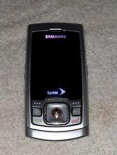 Sprint slide up Samsung phone