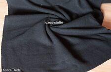 dicke Wolle schwarz Wollstoff Kostüm Stoff Umhang Stoff Loden KT587