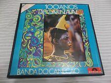 Banda Docanecao - 100 Anos De Carnaval 3 LP Box Set Polydor Brazil IMPORT LOOK