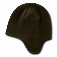 Brown Helmet Beanie Hat Cap Ear Flap Ski Snowboard Warm Winter Hats Beanies