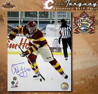 Alex Tanguay Signed Calgary Flames 2011 Heritage Classic 8x10 Photo - 70477