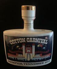 New listing Rare Memphis Cotton Carnival Kentucky Straight Bourbon Whiskey Decanter 1973