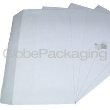 200 X Dl Blanco Liso uno mismo sello Sobres 120x210mm