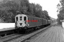 PHOTO  1979 DEEPDENE RAILWAY STATION DORKING THE REAR END OF '3-R' (OR 'TADPOLE'